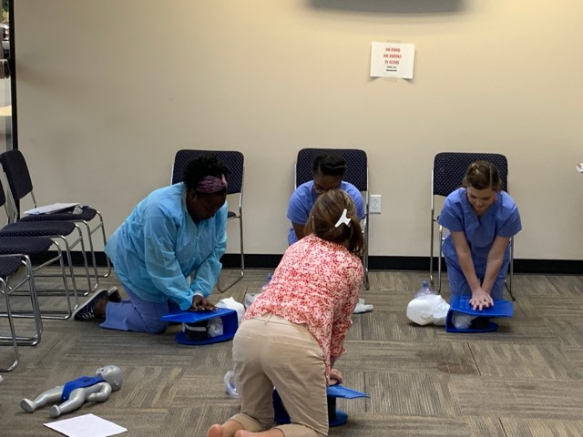 Dental Assistant Alpharetta CPR Training